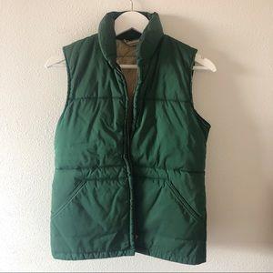 Vintage REI Green puffy vest